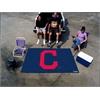"FANMATS MLB - Cleveland Indians ""Block-C"" Ulti-Mat 5'x8'"