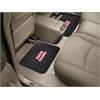"""FANMATS UL-Lafayette  Backseat Utility Mats 2 Pack 14""""x17"""""""