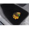 "FANMATS NHL - Chicago Blackhawks 2-pc Embroidered Car Mats 18""x27"""