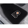 "FANMATS NHL - Philadelphia Flyers 2-pc Embroidered Car Mats 18""x27"""