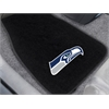 "FANMATS NFL - Seattle Seahawks 2-piece Embroidered Car Mats 18""x27"""