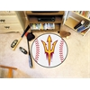 "FANMATS Arizona State  Baseball Mat 27"" diameter"