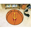"FANMATS Arizona State  Basketball Mat 27"" diameter"