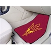 "FANMATS Arizona State 2-piece Carpeted Car Mats 17""x27"""
