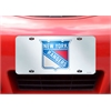 "FANMATS NHL - New York Rangers License Plate Inlaid 6""x12"""
