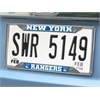 "FANMATS NHL - New York Rangers License Plate Frame 6.25""x12.25"""