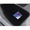 "FANMATS NHL - New York Rangers 2-pc Embroidered Car Mats 18""x27"""