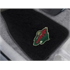 FANMATS NHL - Minnesota Wild 2-pc Embroidered Car Mat Set