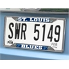 "FANMATS NHL - St. Louis Blues License Plate Frame 6.25""x12.25"""
