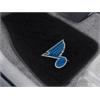 FANMATS NHL - St. Louis Blues 2-pc Embroidered Car Mat Set