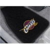 "FANMATS NBA - Cleveland Cavaliers 2-piece Embroidered Car Mats 18""x27"""