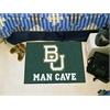 "FANMATS Baylor Man Cave Starter Rug 19""x30"""