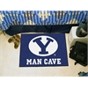 "FANMATS Brigham Young Man Cave Starter Rug 19""x30"""