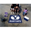 FANMATS Brigham Young Man Cave Tailgater Rug 5'x6'