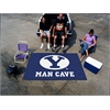 FANMATS Brigham Young Man Cave UltiMat Rug 5'x8'