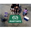 FANMATS Colorado State Man Cave Tailgater Rug 5'x6'