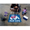 FANMATS Fresno State Man Cave Tailgater Rug 5'x6'
