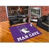 "FANMATS Northwestern Man Cave All-Star Mat 33.75""x42.5"""