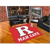 "FANMATS Rutgers Man Cave All-Star Mat 33.75""x42.5"""