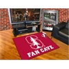 "FANMATS Stanford Fan Cave All-Star Mat 33.75""x42.5"""