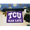 "FANMATS Texas Christian Man Cave Starter Rug 19""x30"""
