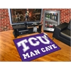 "FANMATS Texas Christian Man Cave All-Star Mat 33.75""x42.5"""