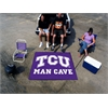 FANMATS Texas Christian Man Cave Tailgater Rug 5'x6'