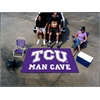 FANMATS Texas Christian Man Cave UltiMat Rug 5'x8'