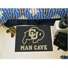 """FANMATS Colorado Man Cave Starter Rug 19""""x30"""""""