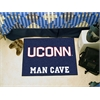 "FANMATS Connecticut Man Cave Starter Rug 19""x30"""