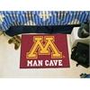 "FANMATS Minnesota Man Cave Starter Rug 19""x30"""