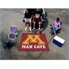 FANMATS Minnesota Man Cave Tailgater Rug 5'x6'