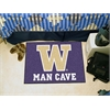 """FANMATS Washington Man Cave Starter Rug 19""""x30"""""""