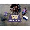 FANMATS Washington Man Cave Tailgater Rug 5'x6'