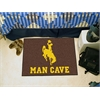 "FANMATS Wyoming Man Cave Starter Rug 19""x30"""