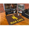 "FANMATS Wyoming Man Cave All-Star Mat 33.75""x42.5"""