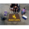 FANMATS Wyoming Man Cave Tailgater Rug 5'x6'