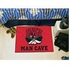 """FANMATS UNLV Man Cave Starter Rug 19""""x30"""""""