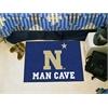 "FANMATS U.S. Naval Academy Man Cave Starter Rug 19""x30"""