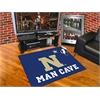 """FANMATS U.S. Naval Academy Man Cave All-Star Mat 33.75""""x42.5"""""""