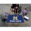 FANMATS U.S. Naval Academy Man Cave UltiMat Rug 5'x8'