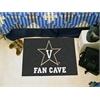 "FANMATS Vanderbilt Fan Cave Starter Rug 19""x30"""