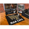 "FANMATS Wake Forest Man Cave All-Star Mat 33.75""x42.5"""