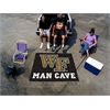 FANMATS Wake Forest Man Cave Tailgater Rug 5'x6'