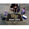 FANMATS Wake Forest Man Cave UltiMat Rug 5'x8'