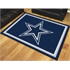 FANMATS NFL - Dallas Cowboys 8'x10' Rug