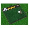"FANMATS NFL - Pittsburgh Steelers Wordmark Golf Hitting Mat 20"" x 17"""