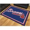 FANMATS MLB - Atlanta Braves 8'x10' Rug