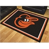 FANMATS MLB - Baltimore Orioles 8'x10' Rug