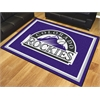 FANMATS MLB - Colorado Rockies 8'x10' Rug